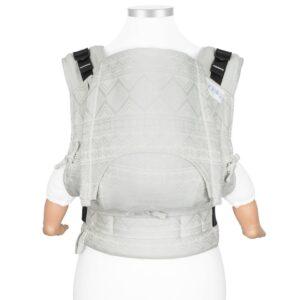 mochila-ergonomica-fidella-fusion-classic-cubic-lines-gris-palido-porteo-ergonomico-store