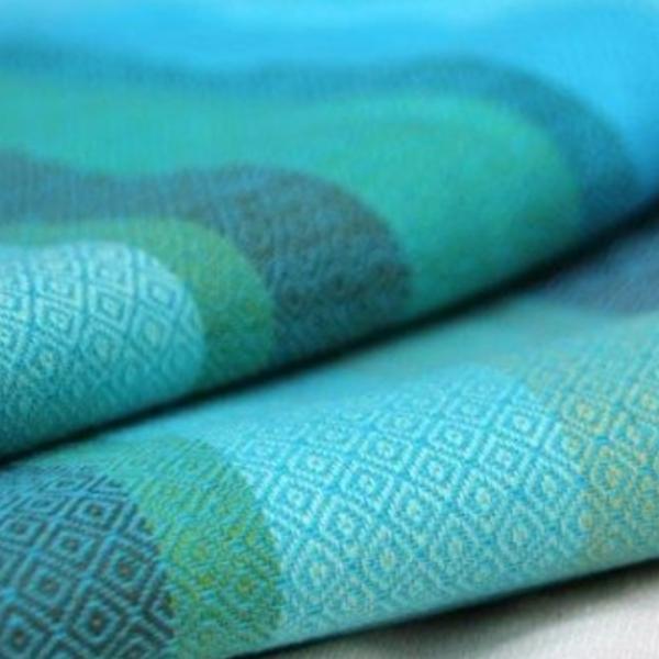 fular-tejido-girasol-azul-pacifico